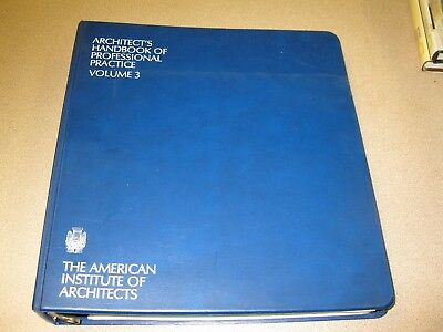 The Architect's Handbook of Professional Practice by American Institute of..