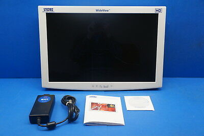 "Karl Storz SC-WU26-A1515 26"" HD WideView Monitor ~ 12665hrs scratched screen"