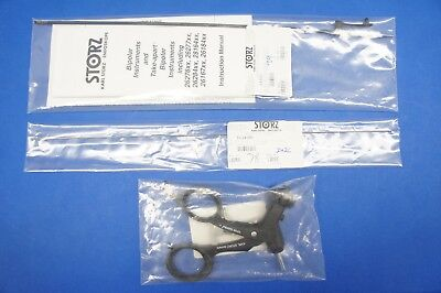Karl Storz 31356ML KELLY Dissecting & Grasping Forceps, Double Action