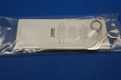 Karl Storz 28164MZC Scissors, Curved To Right, Working Length 18 cm