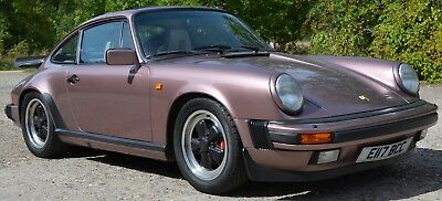 1987 Porsche 911 Carrera Sport 3.2 G50 in Rare Cassis Red 97,000 mls FSH