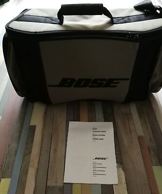 bose wave acoustic music system carry bag only with instructions