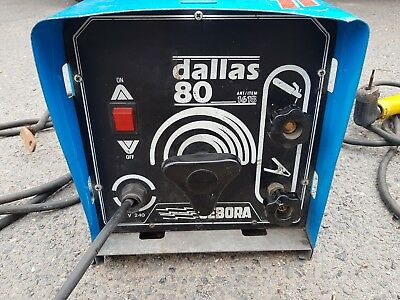 Welder cebora dallas 80 welder used in good working condition