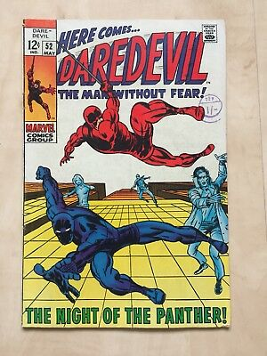 Daredevil Marvel Comic Group #52 may/ the night of the panther /englisch