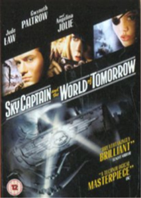 Gwyneth Paltrow, Jude Law-Sky Captain and the World of Tomorrow DVD NEW