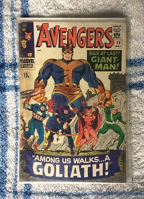 Avengers #28 (1966) - 1st Appearance of The Collector