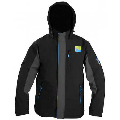 NEW Preston Innovations Soft Shell Hooded Thermal Fleece Jacket Large P0200017