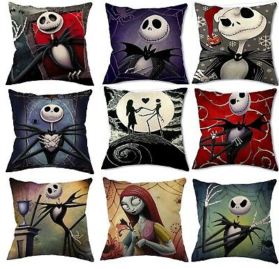 Nightmare Before Christmas Cushion Cover Disney Woven Jack Skellington