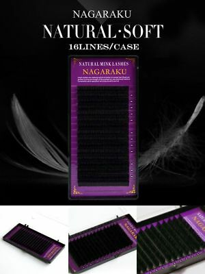Nagaraku 16rows Faux Mink Individual Eyelash Extension Cilia Lashes Extensio New