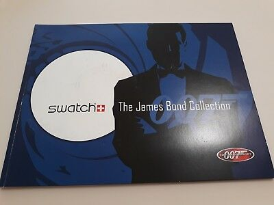 Catalogo orologi SWATCH – THE JAMES BOND COLLECTION – 007 40TH ANNIVERSARY 2002