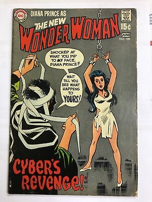 Wonder Woman #188 Bondage Cover VG