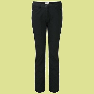 CRAGHOPPERS. Damen Frauen Outdoor gefütterte Hose KIWI PRO WINTER WOMEN, schwarz