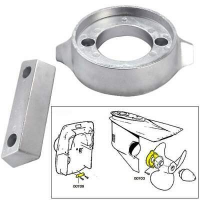 Tecnoseal Anode Kit Volvo 290 with Hardware Magnesium Polybag #20705MG