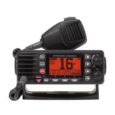 Standard 25w Ultra Compact Fixed Mount VHF Black #GX1300B