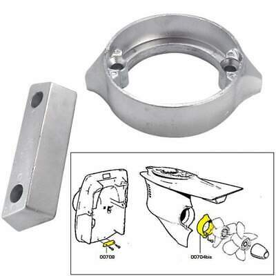 Tecnoseal Anode Kit Volvo 290dp with Hardware Zinc Polybag #20706