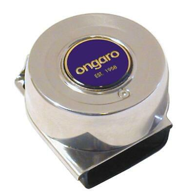 Ongaro Mini Compact Single Horn Stainless Steel 10036