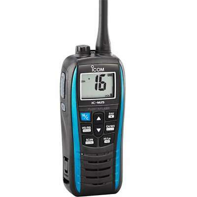 Icom M25 5w Floating VHF In Marine Blue #M25 51