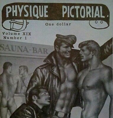 Tom of Finland-Physique Pictorial Volume 19 number 1 gay interest magazine