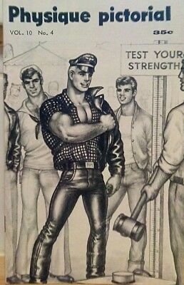 Tom of Finland- Physique Pictorial volume 10 number 4 gay interest magazine