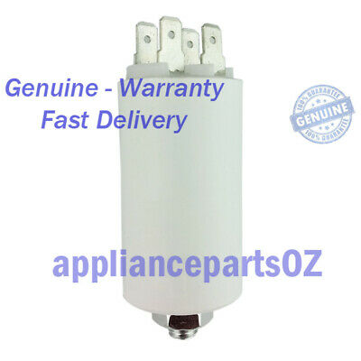CAP007 Capacitor and Nut 7uF Fisher Paykel Dryer Parts