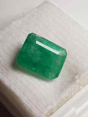 Emerald cut 3.10ct Natural Faceted Emerald Gemstone