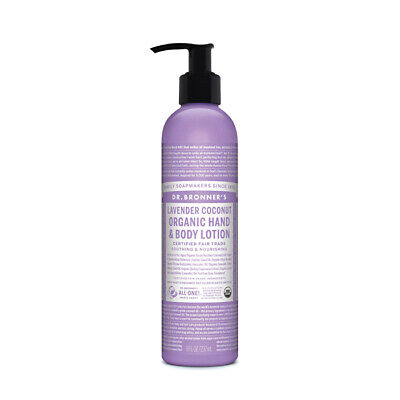 Dr. Bronner's Organic Hand & Body Lotion Lavender Coconut 237ml Body