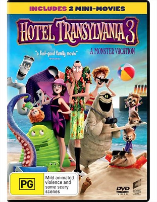 Hotel Transylvania 3 - A Monster Vacation (DVD, 2018) (Region 4) New Release