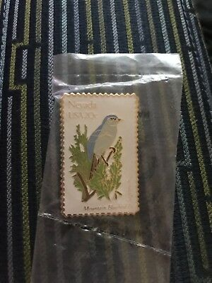 USPS Nevada Postal Stamp Pin - State Bird 20 Cents - Unopened Still In Packaging