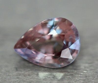 Natural colour-change garnet.