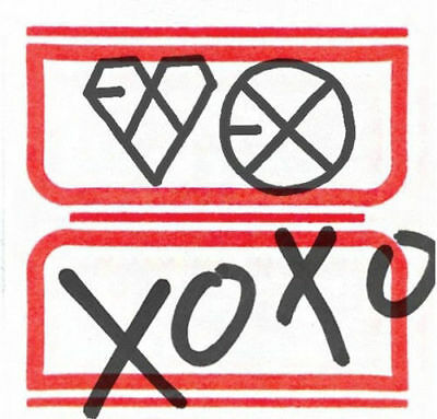 EXO [XOXO] 1st Repackage Album KISS Ver CD+104p Photo Book K-POP SEALED