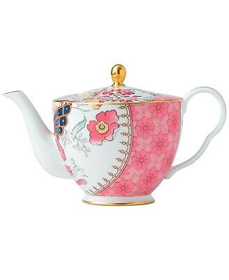 NEW Wedgwood Butterfly Bloom Pink Teapot