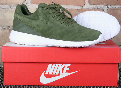 competitive price 1f3a7 f85c0 New in Box Nike Roshe Tiempo VI Legion Green Leather Shoes 852615 300 - Size  9
