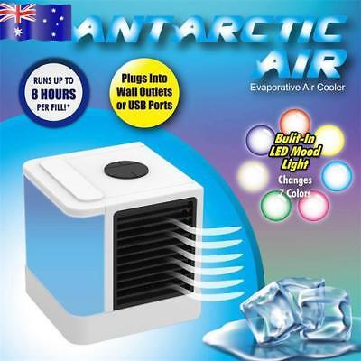 AU!!! NEW Portable Mini Air Conditioner Cool Cooling For Bedroom Car Cooler Fan
