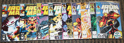 Marvel Iron Man # 258-266 - Armor Wars II COMPLETE SET Tony vs Everyone in Armor