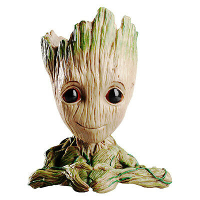 Guardians Of The Galaxy Vol.2 Baby Groot Flowerpot Pen Pot Figure Gift Toy
