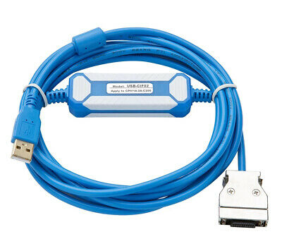USB-CIF02 PLC Programming Cable For Omron CPM1A/CPM1/2A/CQM1/C200HS/HX/HG/HE&SRM