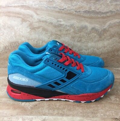d43c5a0e6a9 BROOKS HERITAGE MEN S City Regent Sneakers Running Shoes Blue Red ...