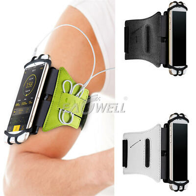 Rotating Sports Running Jogging Gym Armband Arm Band Case Holder For Cell Phones