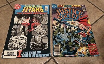 Dc Comics Tales Of The Teen Titans Issue #42, Justice Society Issue #67