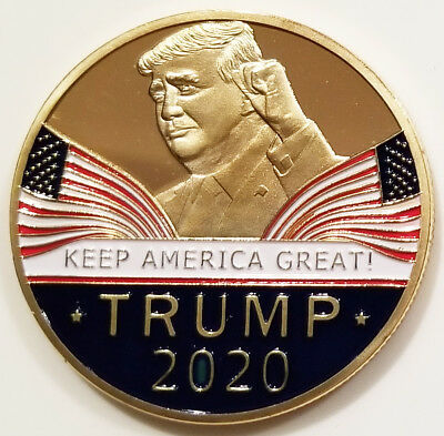 US President Donald Trump Keep America Great 2020 Challenge Coin (non NYPD)
