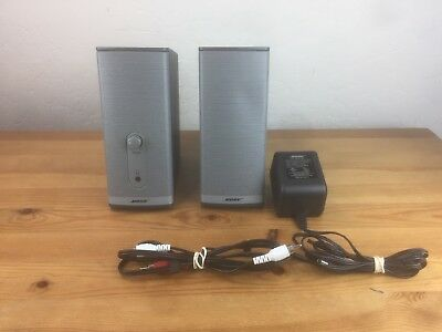 Bose Companion 2 Series II Multimedia Speaker System W/All Cords Tested