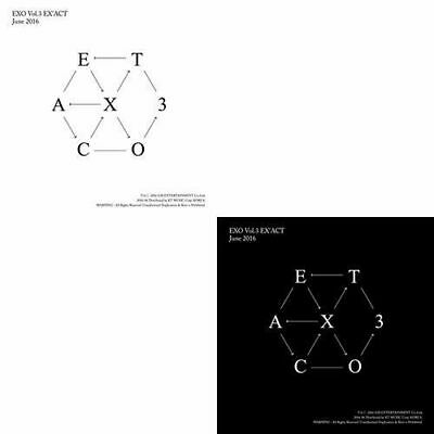 EXO [EX'ACT] 3rd Album CHINESE Ver CD+Photo Book+Photo Card K-POP SEALED