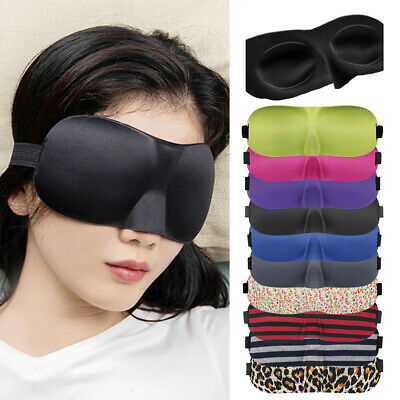 Freshme Travel Eye Mask 3D Shade Cover Rest Sleep Padded Sleeping Aid Blindfold
