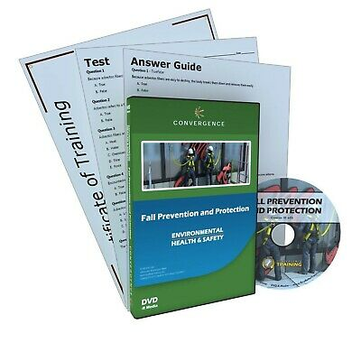 Brand New Convergence Training C-803 Fall Prevention and Protection DVD