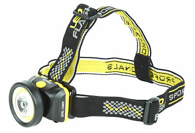 Spro LED Head Lamp Kopflampe SPHL150UV incl. Batterien NEW