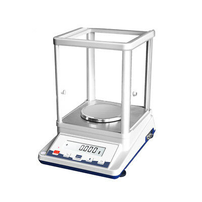100g/1mg Precision Analytical Balance Electronic Lab Scale with Output Function