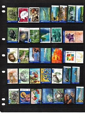 Australian International Post Stamps - 34 different - High Value - Lot 414.