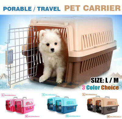 Pet Dog Cat Carrier Portable Tote Crate Kennel Travel Carry Bag Airline Approved