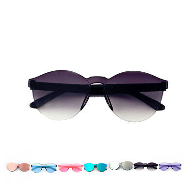 Baby Boys Glasses Color film Children Anti-UV Sunglasses Kids Oval Frame Girls