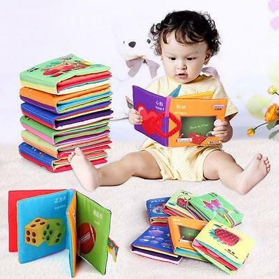 Intelligence development Cloth Bed Cognize Book Educational Toy For Kid Baby Hot